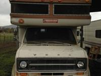 1970's something Roll Along Motorhome on a Ford chasis