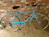 1970's Schwinn 5 Speed Commuter Bike. 20 Inch Frame