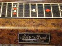 1970's Sho Bud Maverick Model 6152 pedal steel guitar