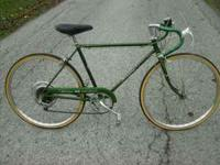 51 cm; All original Schwinn components New tires and