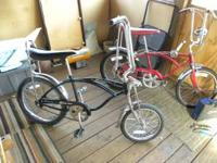 i am selling my 1970 schwinn stingray it is completly