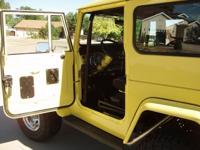 1970 Toyota FJ40 Land Cruiser-Complete Modified