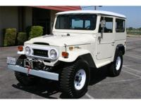1970 Toyota Land Cruiser FJ40. None much sweeter than