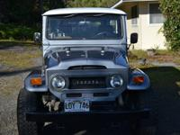 Up for sale is a Restored 1970 FJ40 Toyota Land Cruiser