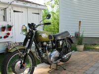 ";;;//1970 Triumph TR6 Tiger 650 is in excellent ""rider"""