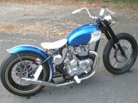 1970 TRIUMPH TROPHY BOLT ON HARD TAIL RIGID FRAME