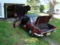 Up for sale is a 1970 Triumph Spitfire in overall good