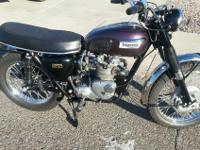 This is a recovered 1970 victory t 100c. Essentially