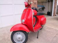 Rare 1970 Vespa 90 SS (Super Sprint) completely