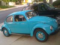 GREAT, CLEAN 1970 VW BEETLE! WONT LAST. It will be gone