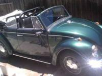 1970 Volkswagen Beetle Import Classic Original owner No