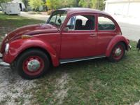 1970 VW Beetle. Beautiful little VW rebuilt motor,