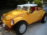 One-of-a-kind and fun to drive VW Beetle Convertible