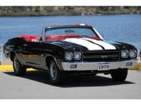 1970 Chevelle LS6 Convertible 454 450hp. If you want