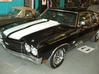 1970 Chevelle SS NOM 454, 460 HP with 4-speed manual.