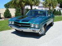 1970 Chevy Chevelle for Sale. 2 Door Hardtop. Believed
