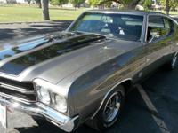 1970 Chevrolet Chevelle  The car is a real SS. It has
