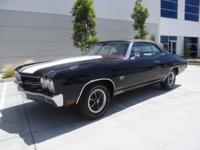 1970 Chevrolet Chevelle 160 Miles Black 450hp 4 Speed