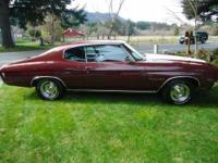 1970 Chevrolet Chevelle Malibu in Excellent Condition