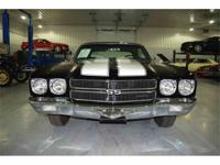 This 1970 Chevrolet Chevelle SS396 Coupe  is powered by