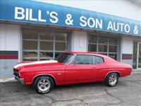 Come Check out this Beautiful 1970 Chevrolet Chevelle