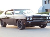 1970 Chevrolet Chevelle SS - Black. interior from