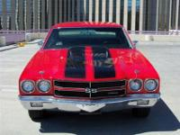 This 1970 Chevrolet Chevelle SS Clone Coupe includes a