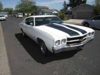 1970 Chevrolet Chevelle in Excellent Condition White
