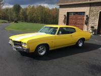 1970 Chevelle ss 454 California Car!  Completely