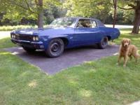 1970 Chevrolet Impala in Excellent Condition Blue