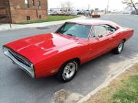 I am selling my 1970 Dodge Charger. One of the most