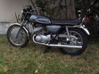THIS IS A H1 500 1970 KAWASAKI MACH III PEACOCK GRAY