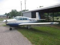 1970 Mooney M20F Airplane. Registration# N6767V, S/N: