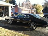 Clean 1970 Oldsmobile Cutlass with a 350 Engine and a