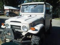 Original rebuilt 2f-engine, original 3-speed trans,