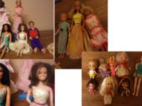 I need to let the old dolls go.  To downsize my house
