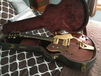 chet atkins model country gentlemen. with hard case.
