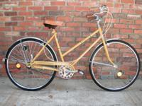 "Nice riding bicycle. 19"" frame. 3 Speeds. Clean bike"