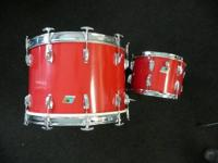 "Used Ludwig traditional drums.22"" and a 13"". I have no"