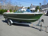 1971 18 ft Century Resorter All Original Boat, with 318