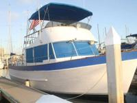 1971 Defever Trawler 38FT with a 13FT beam and wood