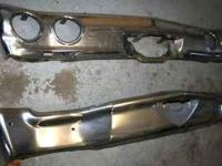 Original 1971-72 Chevelle Rear Bumper ONLY Front has