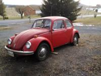 I'm selling a 1971 beetle and a 71 super beetle along