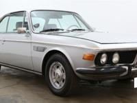 1971 BMW 3.0CS shown here is available in silver with