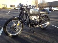 "SELLING MY BMW "" OLD SCHOOL"" CAFE RACER THAT LOOKS"