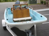 The Nauset added lights, fixed pilot seat, console and