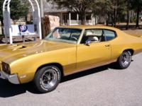 Totally matching numbers 1971 Buick GS equipped with a