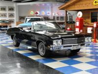 1971 Buick Skylark Custom Convertible. Triple Black!