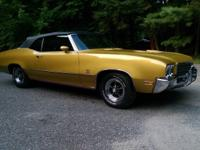 1971 Buick Skylark GS convertible. Only 165 made! This