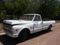 Offering a 1971 Chevrolet c10 for parts just. Single